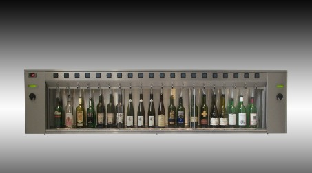 BTG 20 bottles Winedispenser Inox