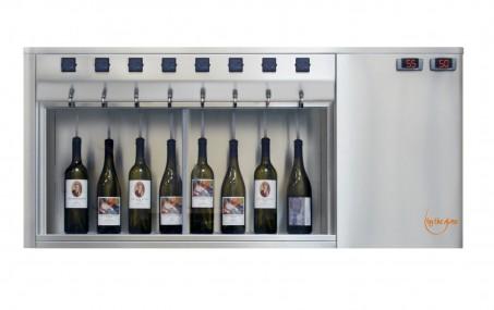 BTG 8 bottles Winedispenser Inox